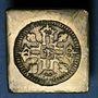 Münzen Louis XIV (1643-1715). Poids monétaire du double louis aux huit L et soleil