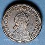 Münzen Louis XIV (1643-1715). Poids monétaire du double louis aux huit L
