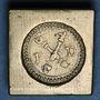 Münzen Louis XV (1715-1774). Poids monétaire du double louis aux insignes