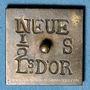 Münzen Louis XVI (1774-1793). Poids monétaire du demi-louis aux écus