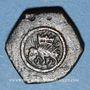 Münzen Pays Bas du Sud. Poids monétaire au cavalier ou ridder de Flandre, créé par Philippe le Bon