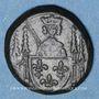 Münzen Philippe VI (1328-1350) et Jean II (1350-1364). Poids monétaire à la chaise