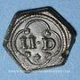 Münzen Poids monétaire de deux deniers (14e - 16e siècle)