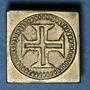 Münzen Portugal. Poids monétaire de la demi-lisbonine de Jean V (1706-1750)