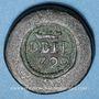 Münzen Portugal. Poids monétaire de la pièce de 4000 reis (17e-18e siècle)