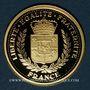 Münzen 70e Anniversaire de la Libération du 8 mai 1945. Médaille or 18 mm