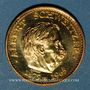 Münzen Albert Schweitzer (1875-1965). Médaille or. Module 20 francs. 1983.  1000 /1000.  6,45 g.