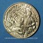 Münzen Bicentenaire de la révolution 1789-1989. Médaille or. 22 mm. Jeu de Paume / les oiseaux de Folon