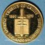 Münzen Charles de Gaulle (1890-1970). Médaille or. 15,6 mm. 999 /1000. 1,75 gr