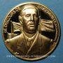 Münzen Charles de Gaulle (1890-1970). Médaille or. 28 mm. Le discours de Brazzaville, 30 janvier 1944
