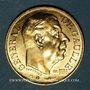 Münzen Charles De Gaulle. Médaille or module  20 francs. La Marseillaise de Rude. 1980. 1000 /1000.  6,45g