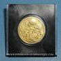 Münzen Etats Unis. Aldrin. Armstrong et Collins. 1er alunissage 1969. Médaille or. 999 /1000. 16,93 g