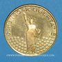 Münzen Etats Unis. John F. Kennedy (+ 22.11.1963). Médaille or. 20,06 mm. 900 /1000. 3,49 g