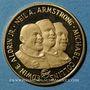 Münzen Etats Unis. Vol Apollo 11. 16-24 juillet 1969. Médaille or. 20 mm