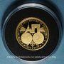 Münzen France. 10e anniversaire de l'euro - 2012. Médaille en or. (PTL 585‰. 2,01 g)
