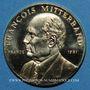 Münzen François Mitterrand. Médaille or. Module 20 francs 1981