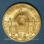 Münzen François Mitterrand. Médaille or. Module 20 francs 1988