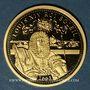 Münzen Louis XIV (1643-1715). 350e annivesaire de l'accession au trône de Louis XIV. Médaille or 18 mm