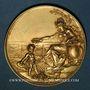 Münzen Metz. Exposition Horticole et Vinicole, 1891. Médaille en or. 40 mm