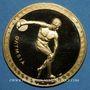 Münzen Mexique. J.O. de Mexico. 1968. Médaille or. 34 mm