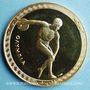 Münzen Mexique. Jeux Olympiques. 19e Olympiade. Mexico 1968. Médaille or. 34 mm. 17,01 g