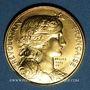 Münzen Module 20 francs 1981. Marianne. R/: sceau de la Première République.  1000 /1000.  6,45 g.