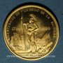 Münzen Module 20 francs 1983. Marianne. R/: Mars, debout, appuyé sur sa lance.  1000 /1000.  6,45 g.