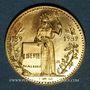 Münzen Module 20 francs 1986. Marianne. R/: la Liberté appuyée sur un socle.  1000 /1000.  6,45 g.