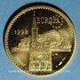 Münzen Module 20 francs 1992. Marianne - Strasbourg.  1000 /1000.  6,45 g.