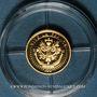 Münzen Napoléon I (1769-1821). Médaille or. 585 /1000. 0,5 g