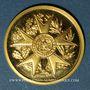 Münzen Napoléon I. Bicentenaire de sa naissance. 1769-1969. Médaille en or. 999 /1000. 4 g