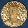 Münzen Saint-Louis. 7e centenaire de sa mort. 1270-1970. Médaille en or