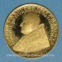 Münzen Vatican. Jean XXIII. Concile Vatican II. 1962. Médaille or. 40 mm. 900 /1000. 35 g.