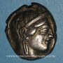 Münzen Attique. Athènes. Tétradrachme, vers 454-404 av. J-C