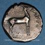 Münzen Bruttium. Caulonia (480-388 av. J-C). Statère