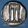 Münzen Bruttium. Crotone (480-430 av. J-C). Statère