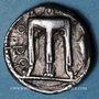Münzen Bruttium. Crotone (550-480 av. J-C). Statère