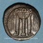 Münzen Bruttium. Crotone (vers 515-500 av. J-C). Statère