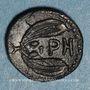 Münzen Bruttium. Rhegium. Litra, vers 415-387 av. J-C