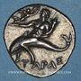 Münzen Calabre. Tarente. Occupation punique. 1/2 shekel, vers 212-209 av. J-C