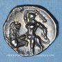 Münzen Calabre. Tarente (vers 280-228 av. J-C). Diobole