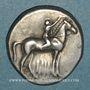 Münzen Calabre. Tarente, vers 302-230 av. J-C. Didrachme
