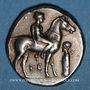Münzen Calabre. Tarente (vers 380-345 av. J-C). Didrachme