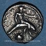 Münzen Calabre. Tarente (vers 415-390 av. J-C). Didrachme