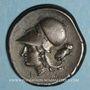 Münzen Corinthe (345-307 av. J-C). Statère