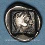 Münzen Dynastes de Lycie. Erbbina (vers 400-385 av. J-C). Triobole. Telmessus(?). Inédit !
