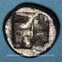 Münzen Ionie. Clazomène (vers 500 av. J-C.). Didrachme