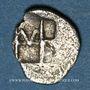 Münzen Ionie. Colophon (vers 450-410 av. J-C). Hémiobole