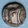 Münzen Ionie. Téos (vers 500-480 av. J-C). Tétartémorion