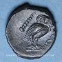 Münzen Italie. Apulie. Salapia (vers 225-210 av. J-C). Bronze